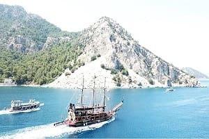 лодочный Tур Marmaris Korsan